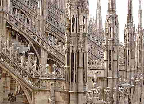 cathedral in milan